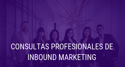 Consultas Profesionales de Inbound Marketing